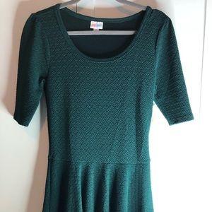 Lularoe Nicole Size Medium Green